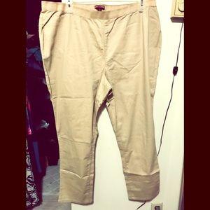 Jessica London Beige Jeans
